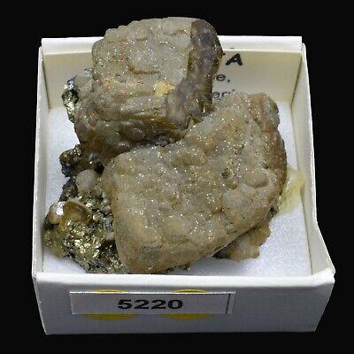 SIDERITA cristalizada (Julcani mine, Angaraes, Peru) #5220 / Siderite