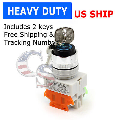 Keyed Onoff Locking Switch Security Lock Heavy Duty Power Ignition Lay7-11y2