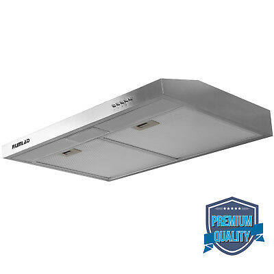 "30"" Stainless Steel Under Cabinet Range Kitchen Hood Stove Vent Fan Panel"