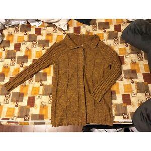 Autumn women knit coat - Size S