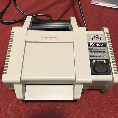 Usi Fx-400 Desktop Pouch Laminator Laminating Machine 115 Volts 60hz 275 Watts