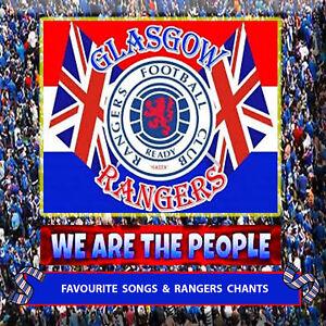 *GLASGOW RANGERS - WE ARE THE PEOPLE*   LOYALIST/ULSTER/ORANGE/RANGERS CD