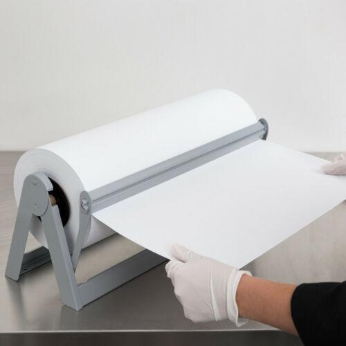 """NEW Horizontal 18"""" Paper Cutter Dispenser Butcher Paper Kraft Roll Paper A500-18"""