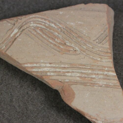 Biblical pottery shard from Old City, Jerusalem, Israel. Old collection!