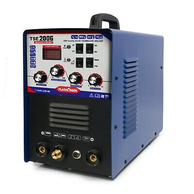 Inverter Welding Acdc Tigmma Aluminum Welder Machine Tse200g New Design 2019