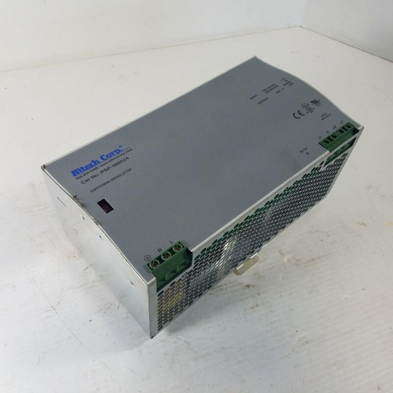 Altech PSP-480S24 Switching Regulator 24VDC 20A