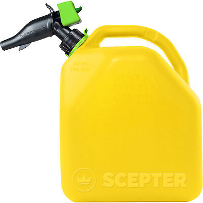 Scepter Smart Control Diesel Fuel Can - 5-gallon Yellow Model Fr1d501