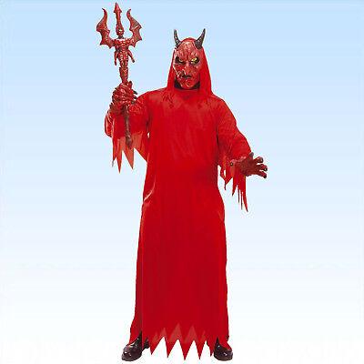 Kostüm Teufel mit Maske und Handschuhen Gr. 50/52 Teufelskostüm Satan Beelzebub