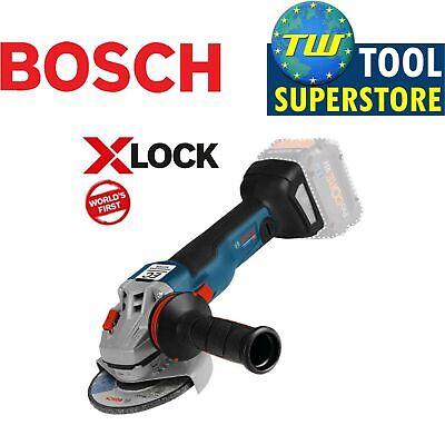 Bosch GWX18V-10C Professional X-Lock 125mm Brushless 18V Ang