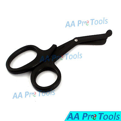 7.25 Black Emt Utility Paramedic Ems Shears Scissors Ems Medical Cuttings