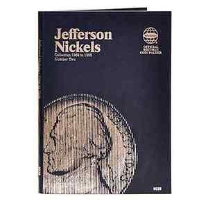 Whitman-Coin-Folder-9039-2-Jefferson-Nickel-1962-1995
