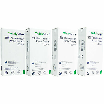 Welch Allyn Thermometer Probe Covers Case Of 1000 In Stock Ref 05031 Hillrom