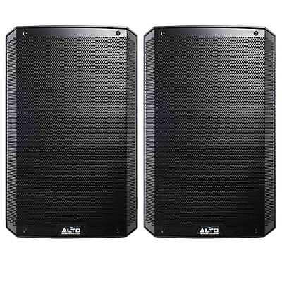 "Alto Professional TS215 15"" 1100 Watt Active/Powered DJ Speaker Pair Open Box"