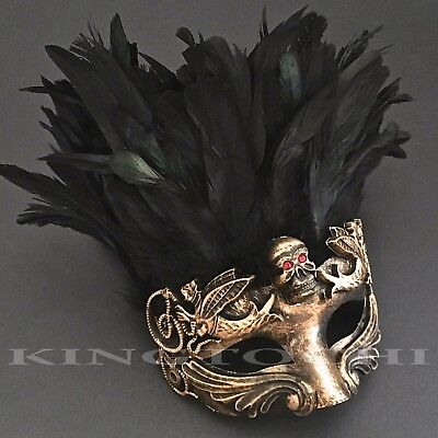 Halloween Costume Evil Snake Eye Accent Cosplay Masquerade Feather - Snake Mask Halloween