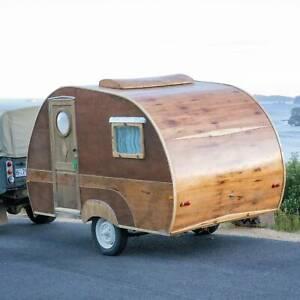 1948 Vintage Bondwood Caravan