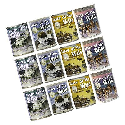 Taste of the Wild Grain-Free Canned Dog Food Variety Pack - Wet... Free Shipping