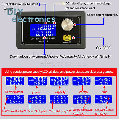 Dc-dc Constant Voltage Current Step-down Programmable Power Supply Module Us