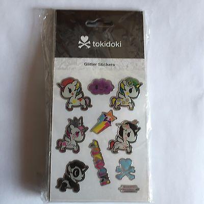 tokidoki Glitter Stickers - Unicorno