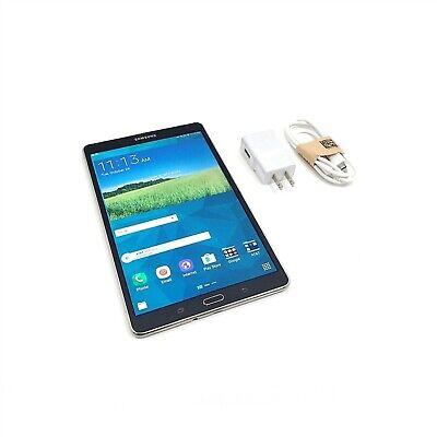 "Samsung Galaxy Tab S SM-T707A AT&T 16GB 4G 8.4"" Charcoal Gray (can be unlocked)"