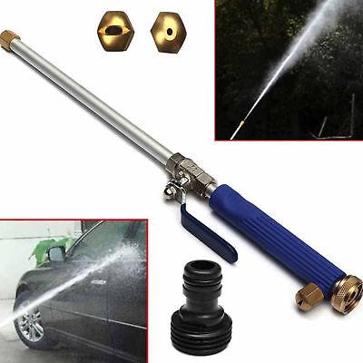 High Pressure Water Jet Power Car Clean Washer Spray Nozzle Water Gun Hose 46cm