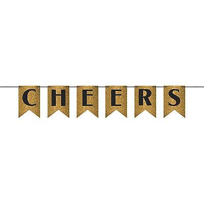 CHEERS Glitter Pennant Banner-NEW - Cheers Banner