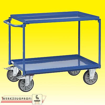 FETRA Tischwagen mit Wannen 4820 400/200 kg Tragkraft   Wannenwagen Etagenwagen