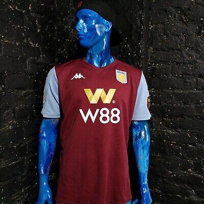 Mings Aston Villa Jersey Home football shirt 2019 - 2020 Kappa Mens Size XL  image