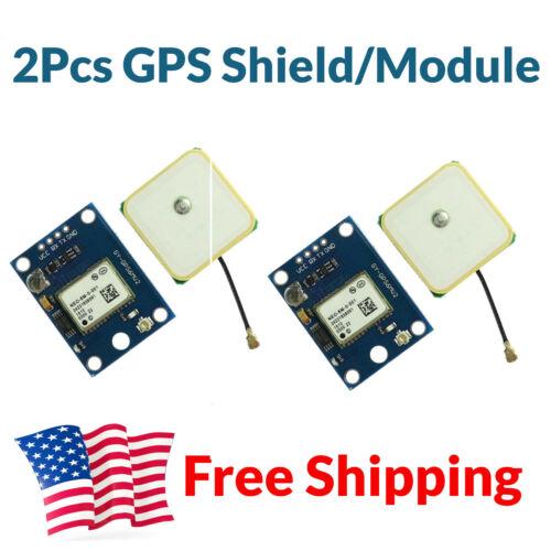 2pcs Gy-neo6mv2 Gps Module Arduino Stm32 Esp32 Flight Controller Mwc Imu Apm 2.5
