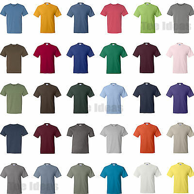 NEW Hanes Mens ComfortBlend EcoSmart Short Sleeve T-Shirt 50