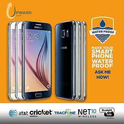 Samsung Galaxy S6 Sm G920a  32Gb 64Gb  At T Cricket Straight Talk Net10 Tracfone
