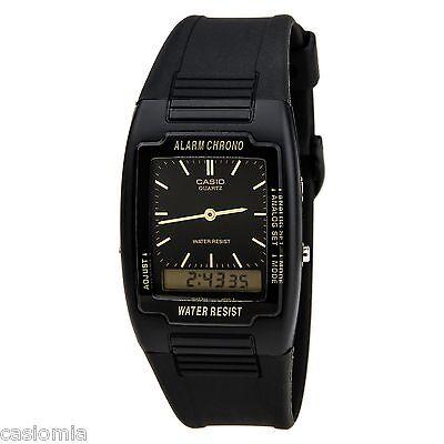 casio aq47 1e analog digital combo chronograph