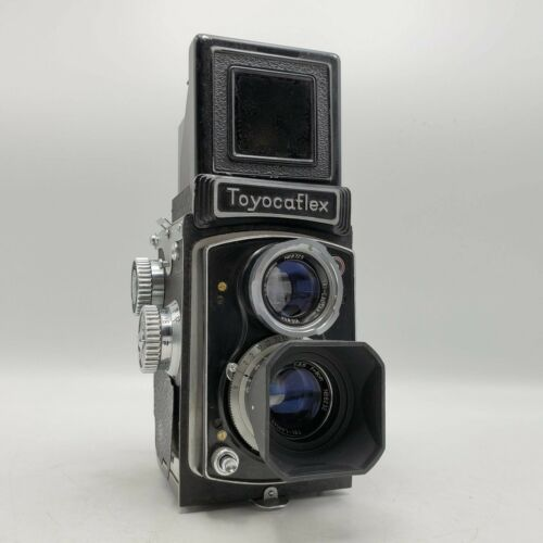 Vintage Toyocaflex 6x6 120 Medium Format TLR Camera - Tri-Lausar 8cm F3.5 Lenses