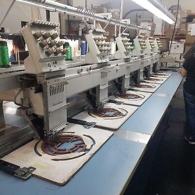 Barudan Embroidery Machine