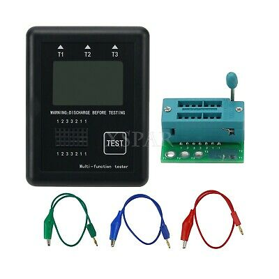 Graphic M8 Transistor Tester Diode Inductance Capacitance Esr Frequency Meter