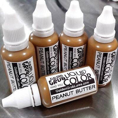 Butter Liquid (NEW 1 OZ. PEANUT BUTTER Liquid Color Fishing Soft Plastic Lure Making)