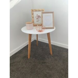 White side table from Adair's