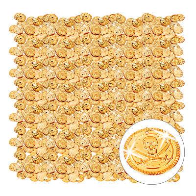 1152 Goldtaler Piraten Goldmünzen Piratenschatz Spielgeld Gold Spielmünzen