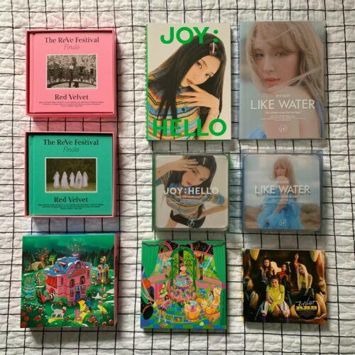 Red Velvet Albums Reve Festival Finale Joy Hello Like Water Monster RBB