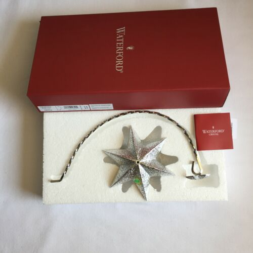 Waterford  STAR  ORNAMENT SILVER STAND Free Shipping