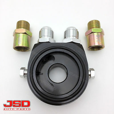 Oil Filter Pressure Oil Cooler Sandwich Plate M20 x1.5 Adapter Sensor Kit