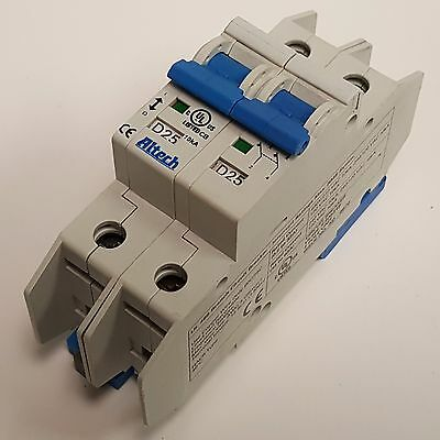 Altech D25 Circuit Breaker E3035318 25a 480v 2 Pole