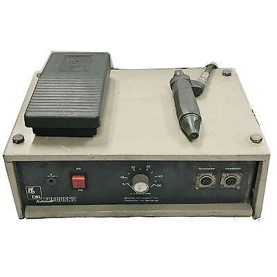 Kavo Ewl Typ 4415 Dental Machine Motor 50000 Rpm With Pedal And Hanpiece