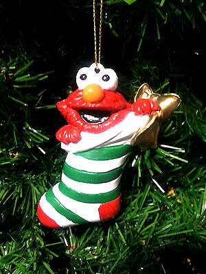 KURT S. ADLER SESAME STREET ELMO CHRISTMAS TREE ORNAMENT HOLIDAY DECORATION](Elmo Christmas Ornament)