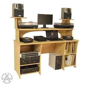 Dj Producer Desk Table Workstation Pc 39 S Laptop Mixer Decks Sound Desks Pd1 Ebay