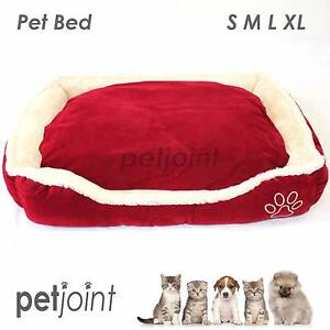 4Size Pet Dog Cat Bed Home Kennel Soft Cushion Mat Suede Fleece 1 Campbellfield Hume Area Preview