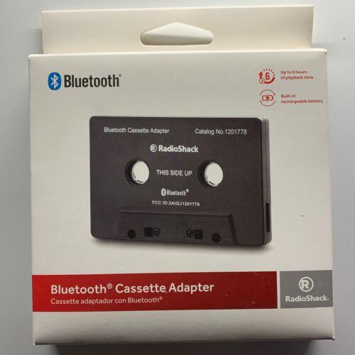 RadioShack Bluetooth Cassette Adapter, for Cassette Decks/Car Audio Use, 1201778