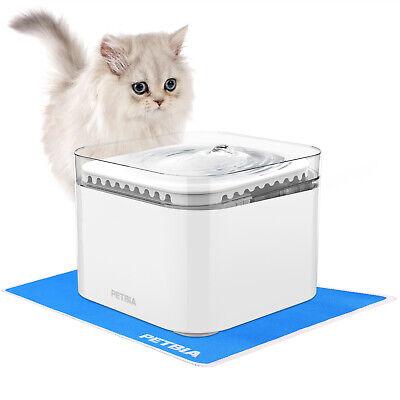 PETBIA Cat Water Fountain 84oz/2.5L Automatic Pet Dog Water Fountain Dispenser Automatic Pet Dog Cat
