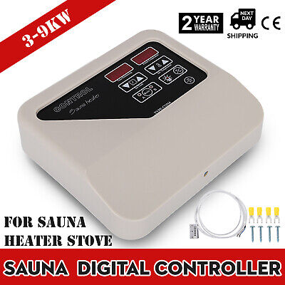 Sauna Digital Controller for Sauna Heater Stove 3-9kw External Controller