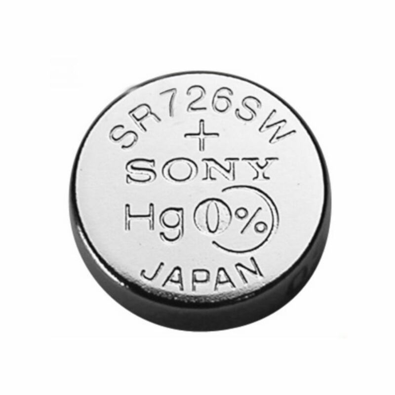 1 NEW SONY 397 SR726SW SR726 silver oxide watch battery - JAPAN - USA Seller