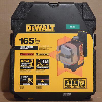 Brand New Dewalt Dw089k Self-leveling Line Laser 3-beam Laser